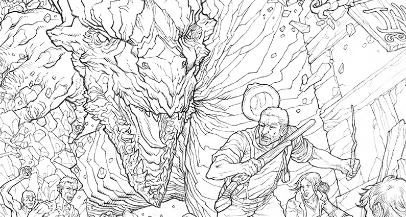 Shotguns & Sorcery: Cover Preview