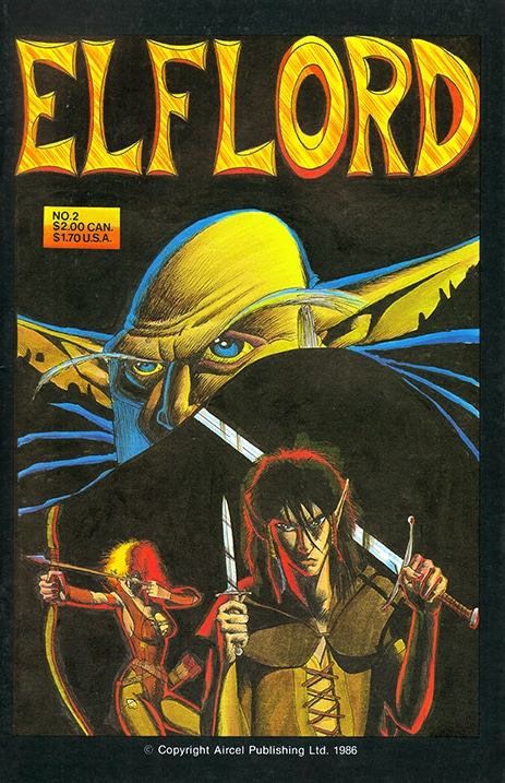 Elflord Volume 01 Issue 02 Digital Comic