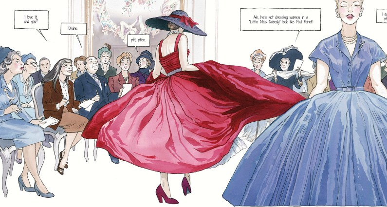 Couture & High Fashion in Comics
