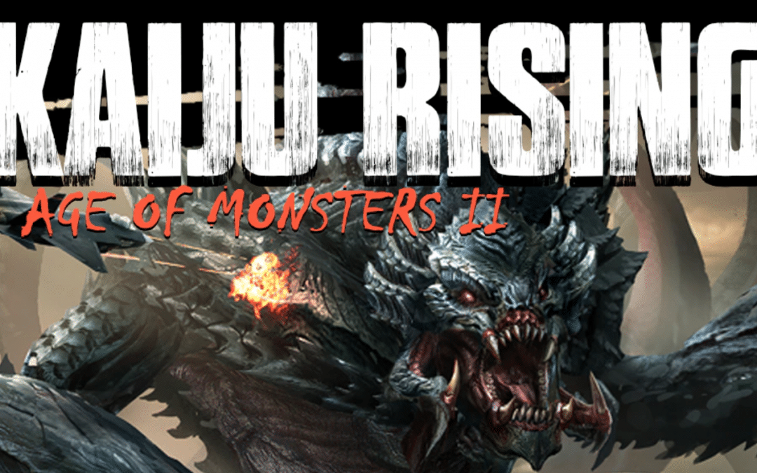 Kaiju Rising: In Search of a Monster by Lee Murray