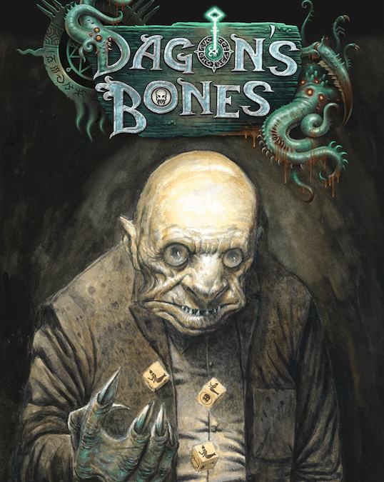 Dagon's Bones: A Lovecraft-Inspired Kickstarter Game!
