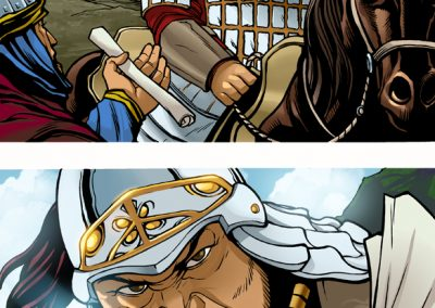 Genghis Khan colors page 07