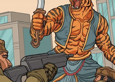 Indian Hunters vs Rakshasa Tiger1
