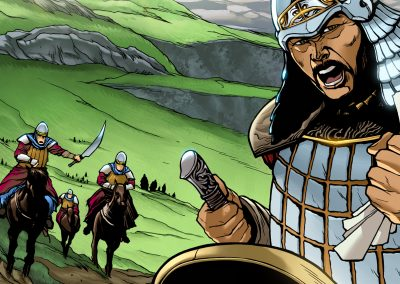 Learning A-Z: The Wrath of Genghis Khan