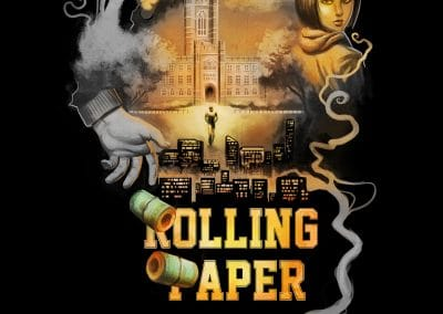 Rolling paper poster proof textured_72