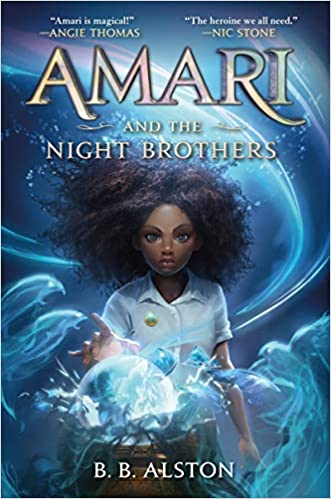 Amari and the Night Brothers cover